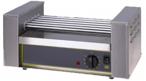 Roller Grill RG5T 5 Roller Teflon Unit Hot Dog Equipment
